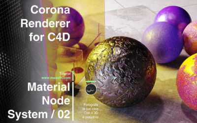 Introduzione ai Materiali Nodali con Corona Renderer / Parte Seconda